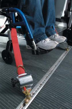 Wheelchair Securement Key Mobility
